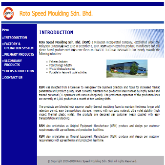 Roto Speed Moulding Sdn Bhd